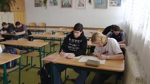 Výuka na střední škole