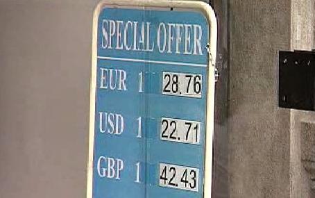 Směnné kurzy