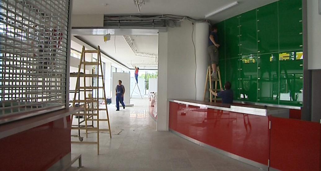 Rekonstrukce kina kroměřížského kina Nadsklepí