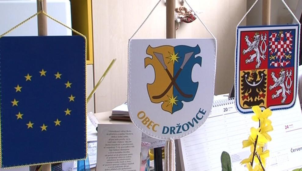Obec Držovice - kancelář starostky