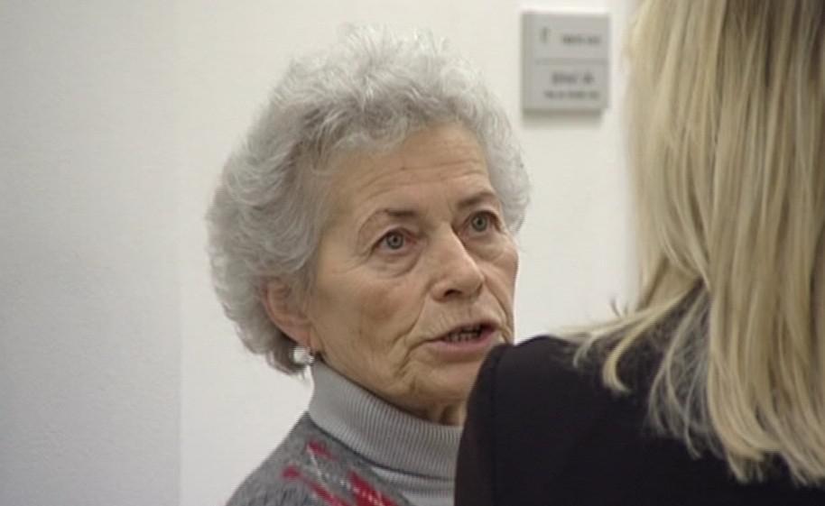 Zdravotní sestra Zdeňka Mládková