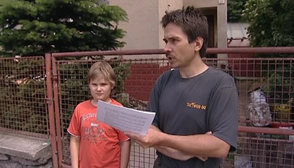 Jiří Šoltys se synem Jirkou
