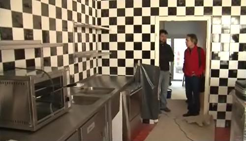 Kuchyně v kavárně Era