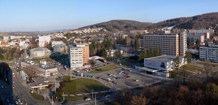 Náměstí Práce ve Zlíně má projít revitalizací