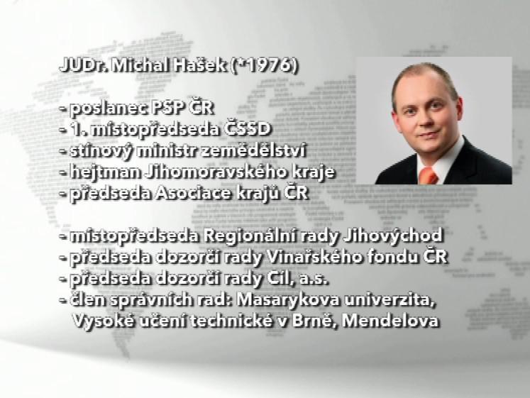 Michal Hašek - funkce