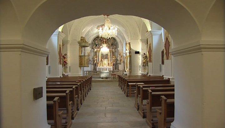 Kostel ve Slupi