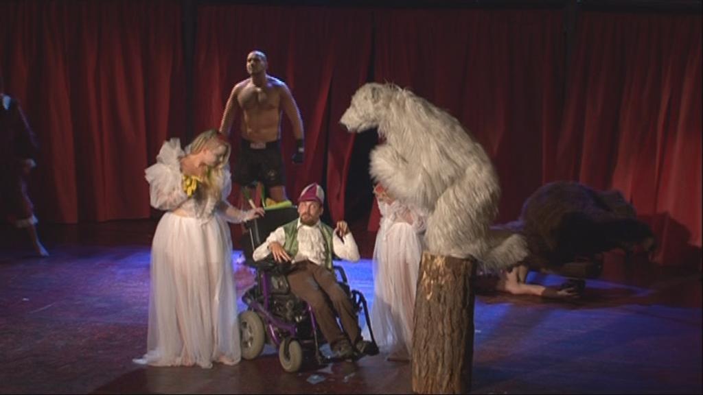 Ukázka z představení Sen noci shakespearovské
