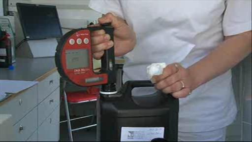 Testování paliva