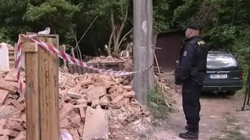 K demolici místní přivolali i policii
