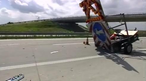 Nehoda na 255. kilometru zablokovala dálnici D1 na několik hodin