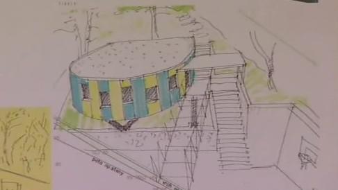Návrh nového pavilonu