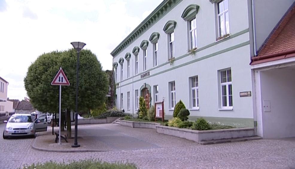 Radnice městyse Hrušovany nad Jevišovkou