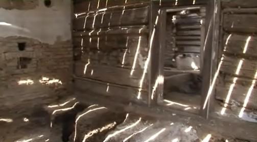 Interiér roubenky v Knínicích u Boskovic