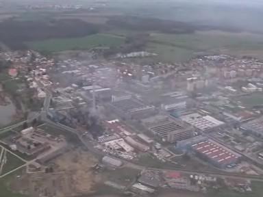 Letecké záběry na Chropyni