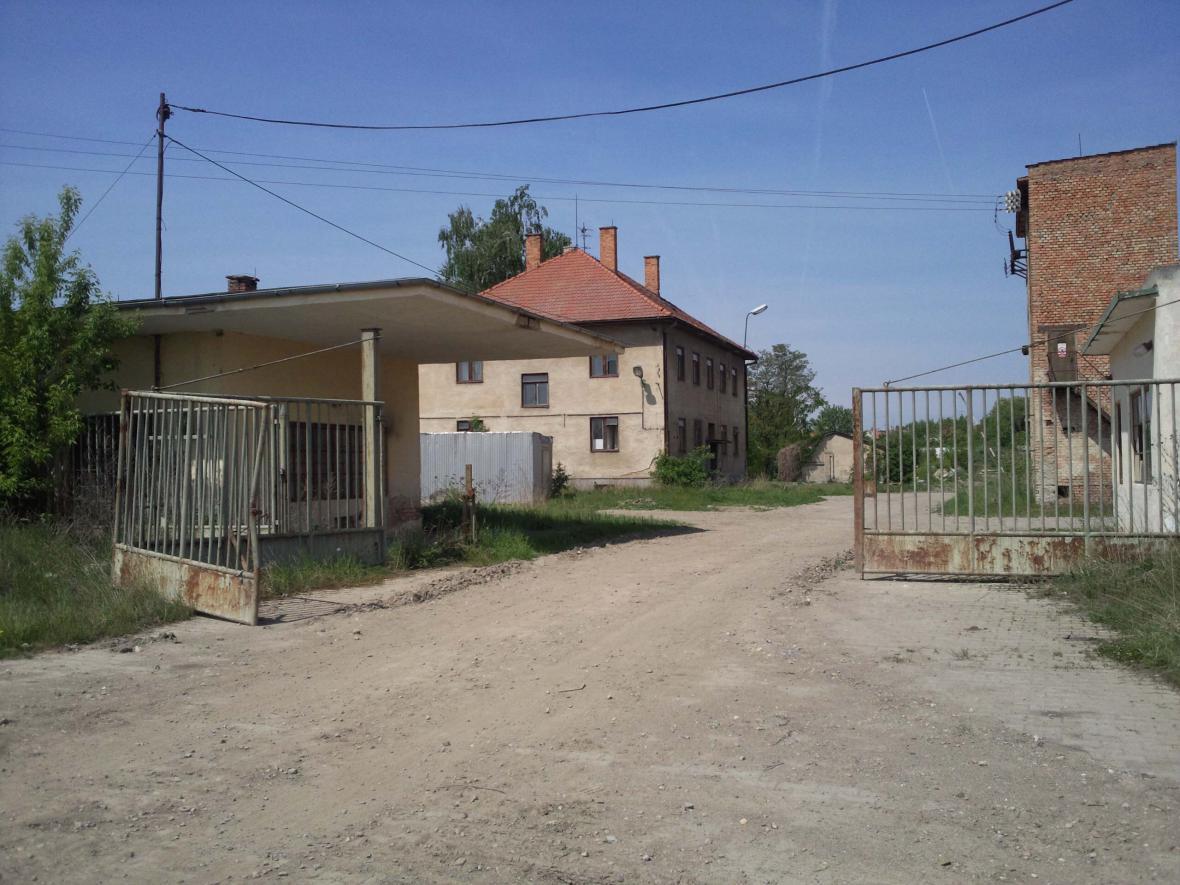 Opuštěný areál bývalého cukrovaru v Sokolnicích
