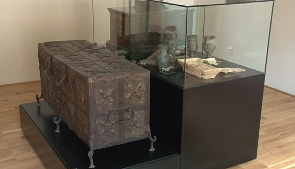 Exponáty v tišnovském muzeu