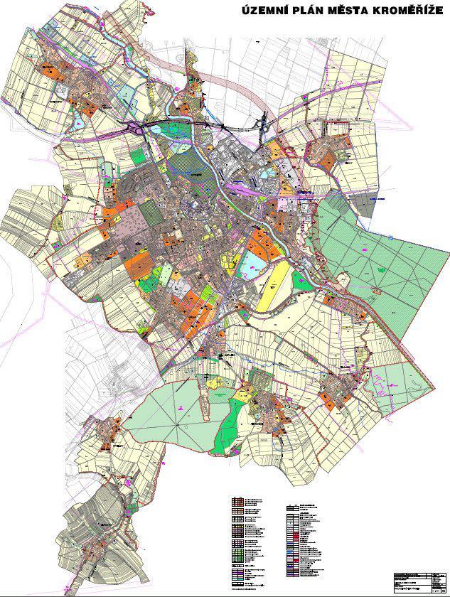 Návrh změny územního plánu Kroměříže