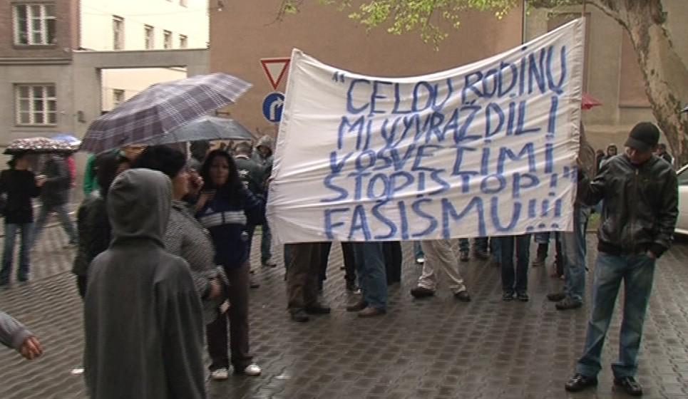 Protesty proti pochodu radikálů