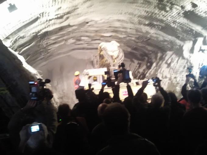 Tunely Dobrovského jsou proraženy
