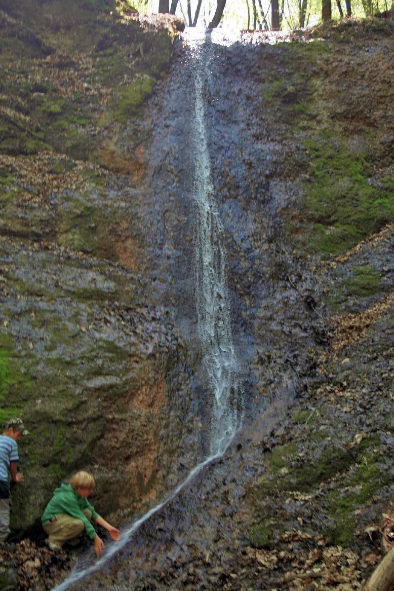 Moravskokrumlovský vodopád