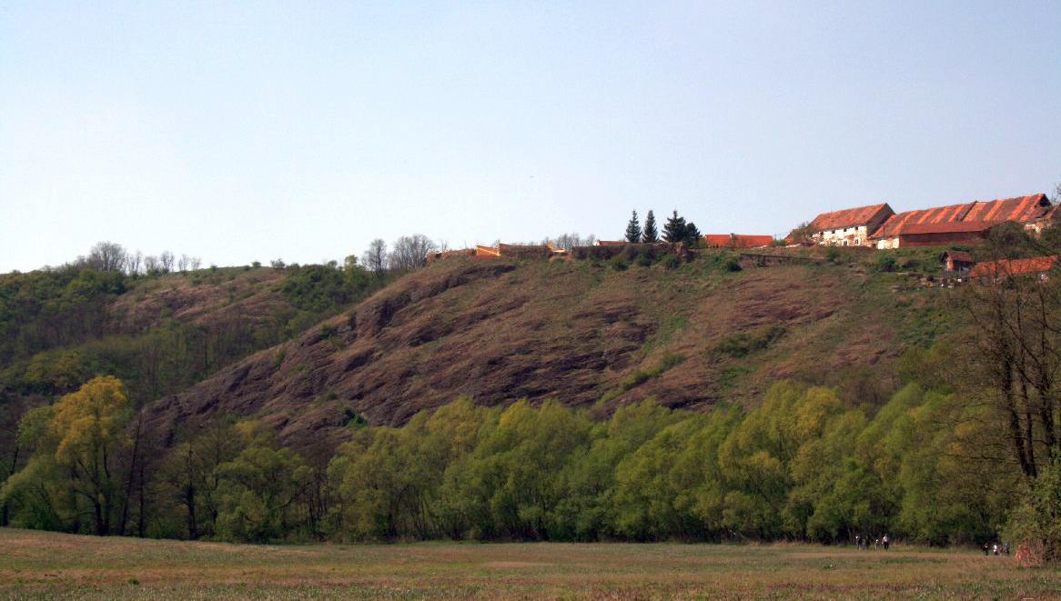 Pozůstatky tvrze u Budkovic
