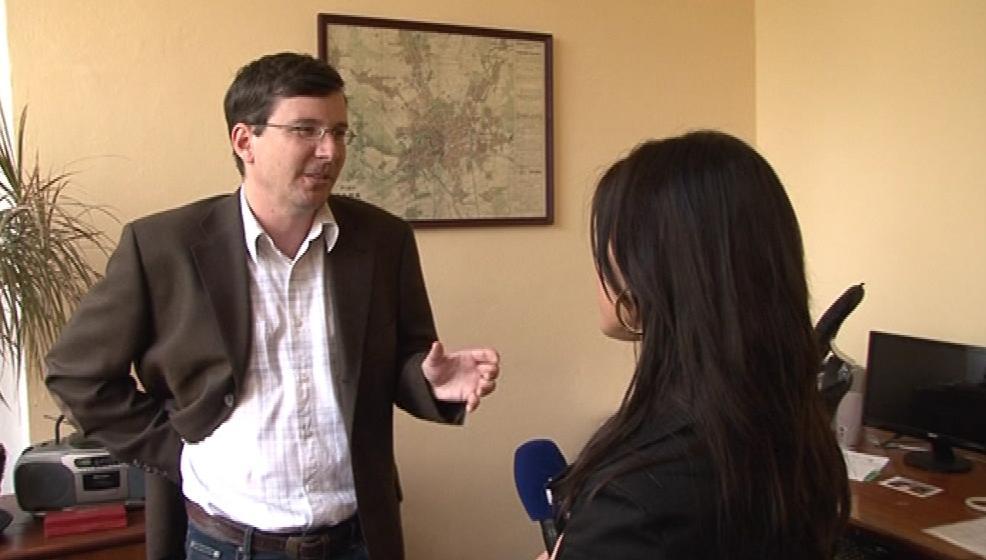 Starosta Marek Šlapal (ČSSD) nemá možnost proti výpovědi Egera zasáhnout