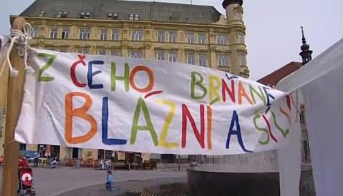 Zeď bláznovství v Brně