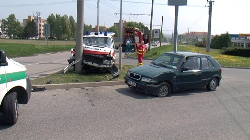 Nehoda ve Šlapanicích u Brna