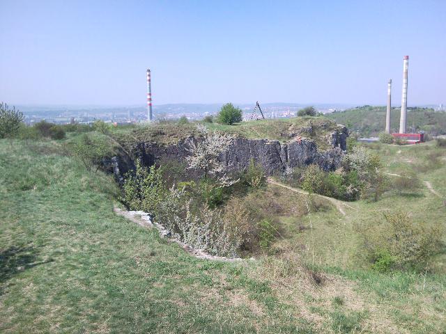 Ze Stránské skály se nabízí výhled na celé Brno