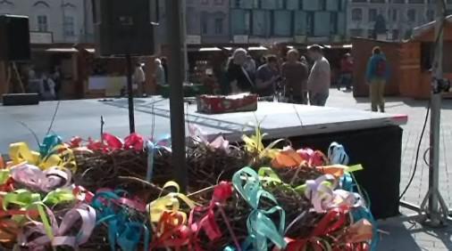 Na Velikonoční slavnosti první dopoledne zamířily desítky lidí
