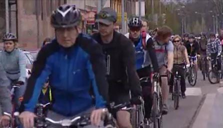 Účastníci 24. brněnské cyklojízdy