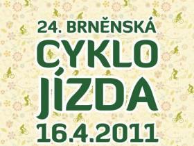Plakát 24. brněnské cyklojízdy