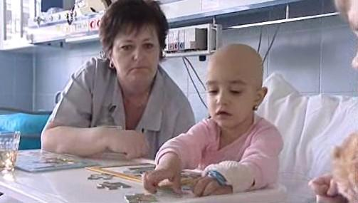 Dítě nemocné rakovinou