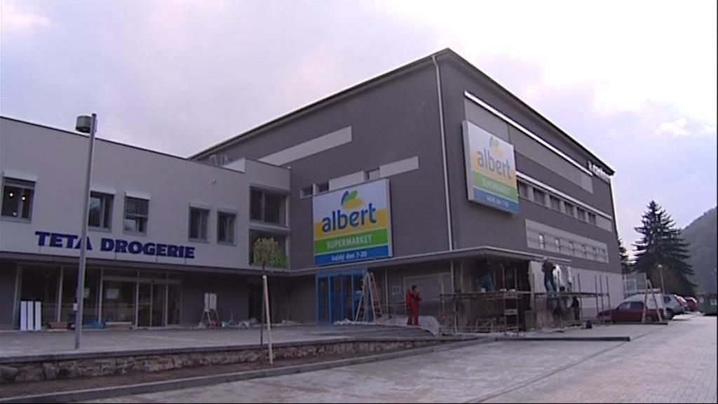Nové multifunkční centrum v Adamově