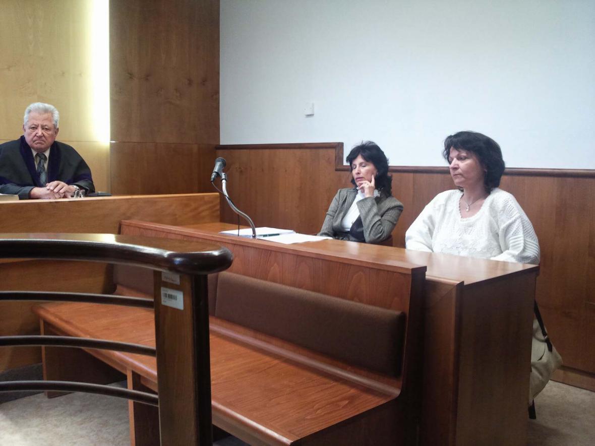 Lenka Krupcová, pěstounka SOS vesničky obžalovaná z týrání