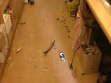 Rváči zničili hospodu v Kyselovicích
