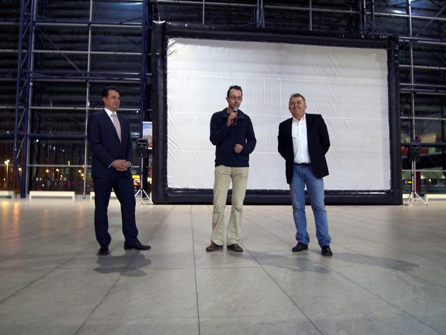Febiofest 2011 / projekce na letišti