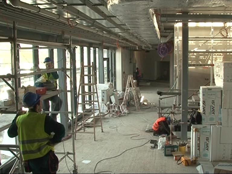 Dokončování interiérových prací