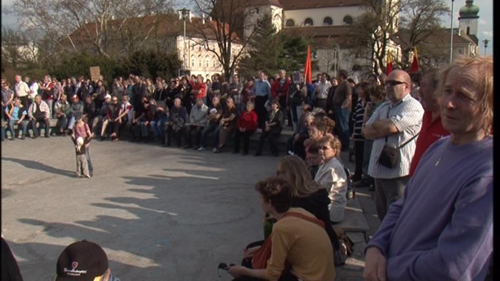 V Brně se demonstrovalo proti vládním reformám