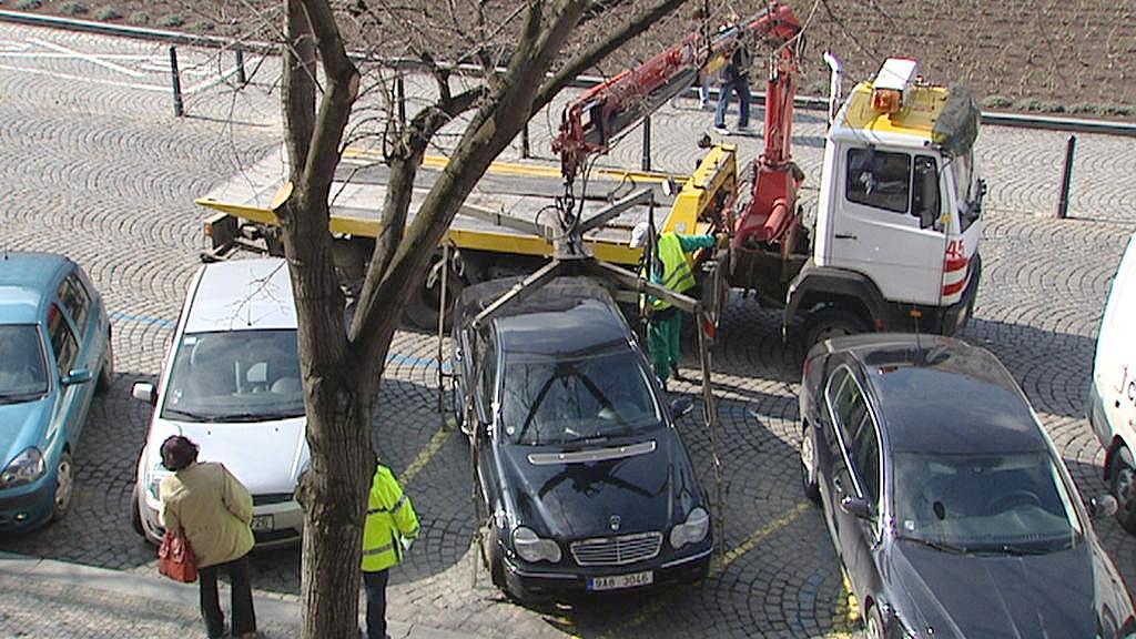 Odtahování auta
