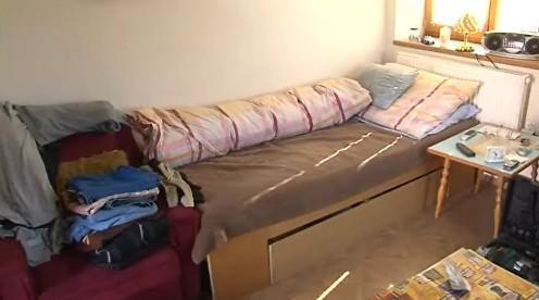 Ubytovna pro bezdomovce v Újezdu u Brna