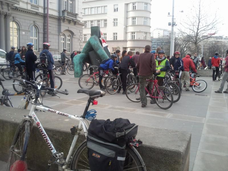 Cyklisté v Brně chtějí více prostoru