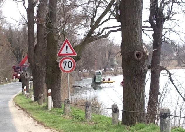 V Lednici se utopil dvaadvacetiletý řidič