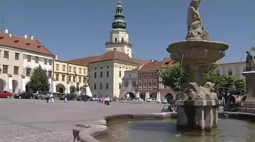 Náměstí v Kroměříži