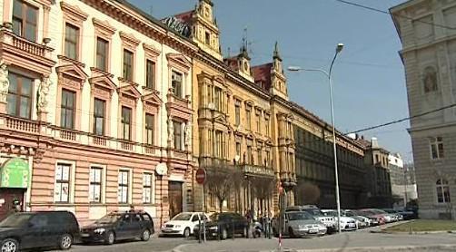 Památkově chráněný dům v Marešově ulici