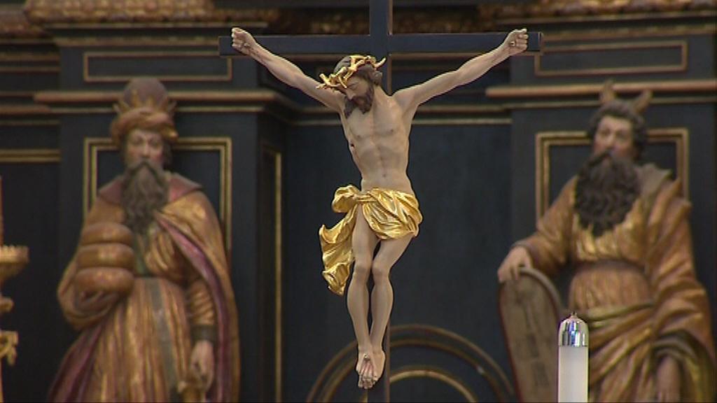 Interiér Katedrály sv.Jána Krstitela