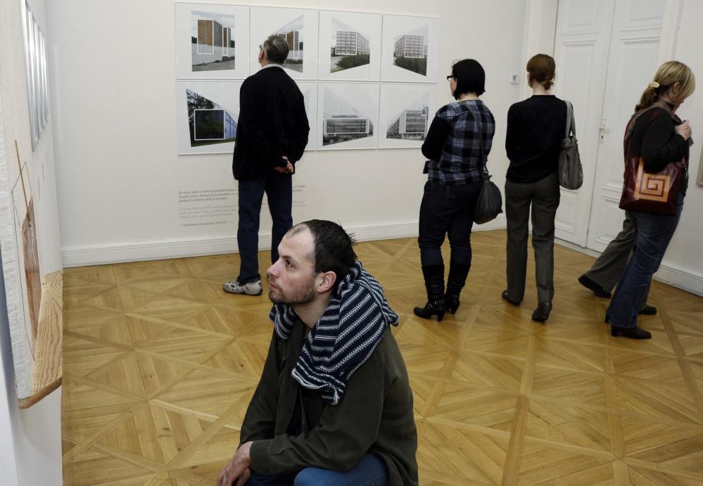 Plocha, hloubka, prostor - výstava v Moravské galerii v Brně