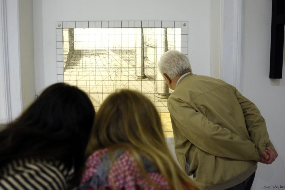 Plocha, hloubka, prostorv - výstava v Moravské galerii v Brně