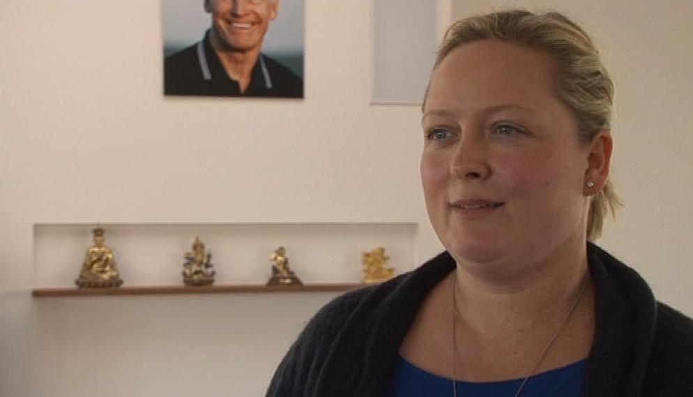 Veronika Černá je učitelkou buddhismu Diamantové cesty