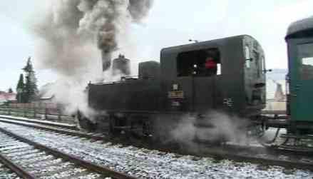 Parní lokomotiva se znovu rozjela